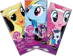 Lot of 3 - MLP   My Little Pony Dog Tag Blind Bag by Enterplay (Sealed)