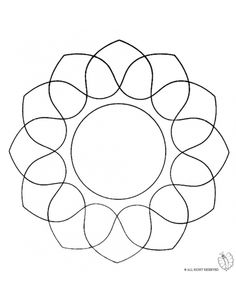 1000 images about disegni di mandala da colorare on for Disegni di mandala semplici