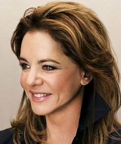 Stockard Channing 68. Okay, she's not gray but she is gorgeous.