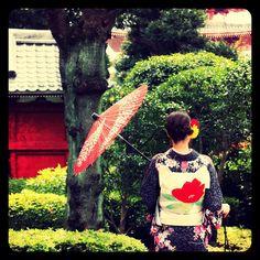 Holiday in kyoto #pupuru #yukata #wifirental