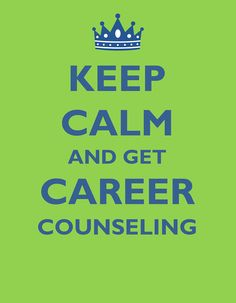 A career counselor is available to help you explore the results of the career assessments, evaluate your options for the future, or make a decision about your career.