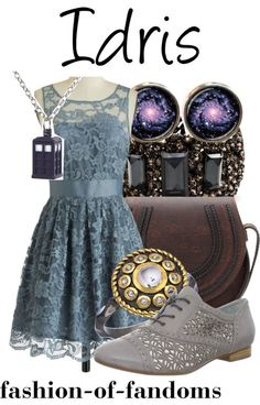 Fandom Fashion. Now, I'm not a whovian, but this outfit is adorable!