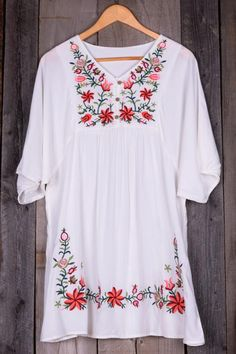 Cupshe Free Spirit Floral Embroidery Dress