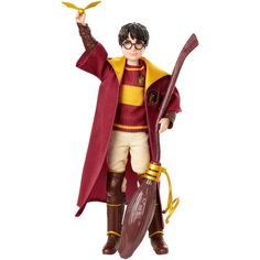 Check out the Harry Potter Quidditch doll at the official Matter site. Explore all your favorite Harry Potter Quidditch character dolls and more today! Harry Potter Quidditch, Harry Potter Alter, Quidditch Robes, Harry Potter Toys, Harry Potter Pictures, Sheriff Woody, Chucky, Figurine Harry Potter, Vif D'or