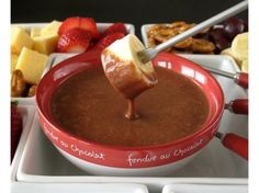Chocolate Mallow Fondue