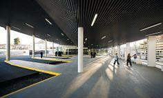 Bus Station in Baeza, DTR_studio