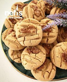 Halva Cookie with Walnut - Delicious Recipes Quick Vegan Meals, Vegan Meal Prep, Raspberry Rhubarb Jam, Coffee Bread, Walnut Cookies, Tasty, Yummy Food, Delicious Recipes, Stuffed Mushrooms
