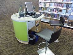 View of information pod - Appaloosa Library, AZ now this is a functional way of doing this.