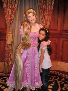 Con Rapunzel Sofía