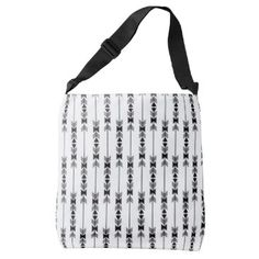 "Title : 202 Tribal, Ethnic, Black Arrows Print Crossbody Bag  Description : Words to describe Tribal; ""Native-American's, Indian, Tribes, ""Tribal-Prints"", ""Geometric-Patterns"", ""Miscellaneous-Shapes"", Diamonds, Squares, Arrows, ""Repetitive-Patterns"", ""Fabric-Weaving"", Tapestry, Beads, ""Animal-Bones"", ""Ethnic-Tribes"", Cultural, Cultures, ""Southwest-Patterns"", ""Animal-Pattern-Prints"", ""Ethnic-Prints"", Ganado, ""Native-Traditional-Patterns"", Ikat, ""Navajo-Art"", Weaving, ""Design-Elements…"
