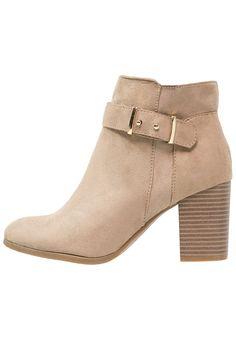 Anna Field Ankle Boot sand Schuhe bei Zalando.de | Obermaterial: Textil, Innenmaterial: Lederimitat/ Textil, Sohle: Kunststoff, Decksohle: Lederimitat | Schuhe jetzt versandkostenfrei bei Zalando.de bestellen!