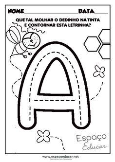 Alphabet Writing, Alphabet Worksheets, Pre Writing, Alphabet Activities, Preschool Learning Activities, Free Preschool, Toddler Learning, Preschool Worksheets, School Items