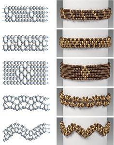 Схемы плетения: браслеты из бисера своими руками | Плетение бисером