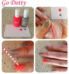 Blog - Easy Peasy Party Nails