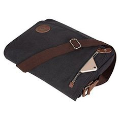 75bf5b0447 Men s Canvas Schoolbag Shoulder Messenger Bag Vintage Satchel Laptop Bags  LIUS
