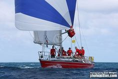 Jules, a Salamander Skipper in the UK during the summer season, taking time out racing between Las Palmas in the Canaries to Rodney Bay in St. Lucia in the Caribbean, on board Scarlet Oyster, winning in their Class in the ARC Atlantic Rally. http://www.thesalamandersailingadventure.com/events