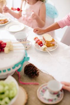 Making Life a Party: Woodland Fairy Tea Party - The Alison Show