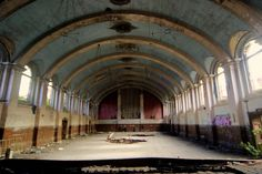 abandoned places & spaces    #abandoned