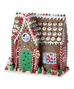 Take a look at this LED Gingerbread House on zulily today!