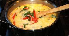 Quick Thai Chicken Soup from Cozi Family Dinner Club Spicy Thai Chicken Soup, Chicken Kale Soup, Thai Soup, Quick And Easy Soup, Easy Food To Make, Asian Recipes, Healthy Recipes, Ethnic Recipes, Yummy Recipes