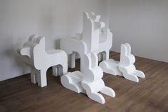 Simple Shapes by Lesha Galkin, via Behance