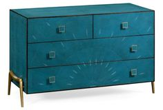 Zena Chest of Drawers, Teal