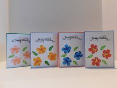 Card Set, 12 card set, Happy Birthday Cards, Happy Anniversary, Thank You, With Sympathy, Congratulations, Hibiscus Flowers