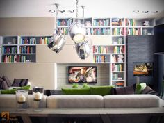 My next tv console + Lego display. Check out those lights?!