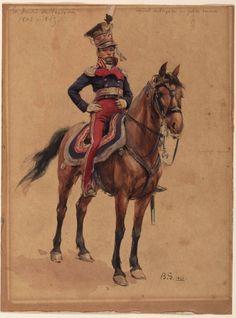 Gr. Duché de Varsovie, 1806-1815 : Général de Brigade en petite tenue: