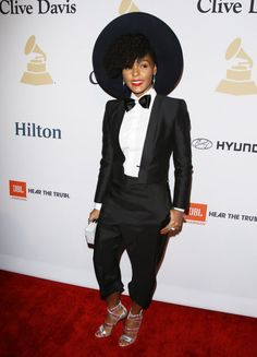 Janelle Monae in Dsquared2