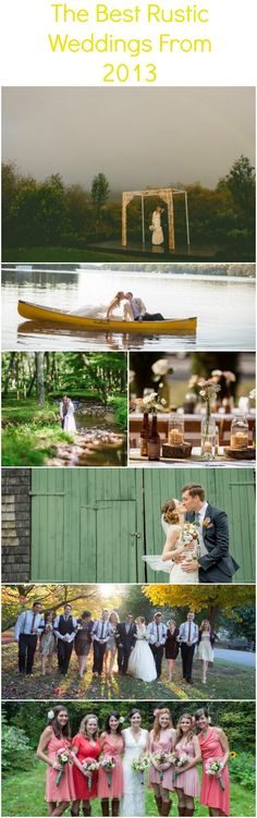 The Best Rustic Weddings from 2013