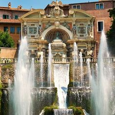 Villa d'Este, Tivoli, Italy : The Most Beautiful Historic Gardens To Visit Around the World : Architectural Digest