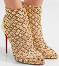 be5ca738be0d Don t miss Christian Louboutin s  Andaloulou  ankle boot at Your Next