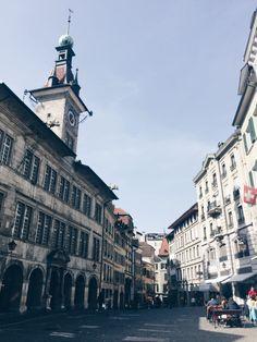 Lausanne Switzerland Les Terrasses de Lavaux Lausanne, Lucerne, Visual Diary, Zurich, Trip Planning, Switzerland, Road Trip, Street View, Magic