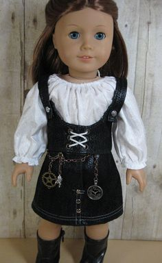 18 inch Doll Clothes American Girl Steampunk by nayasdesigns, $32.50