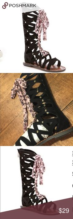 Girls lace up sandal Adorable girls sandal Sz 12 new in box Sam Edelman Shoes Sandals & Flip Flops