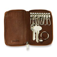 375d8c9bcd66 8-Hook Zip Key Case at Groskopfs Fine Luggage and Gifts Store multiple keys  in