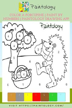 This is a perfect cartoon coloring exercise that an adult or a kid can do.It will enable you to become more comfortable with the tools and features of the Paintology drawing app.The coloring of a porcupine consists of only eight colors and there are no tiny details. This will help you to make this drawing fairly quickly. You can start of with the Paintology app that is available on the google,huawei and amazon play stores. #paintbynumbers #freepaintbynumbers #makeyourownpaintbynumber #digitalart