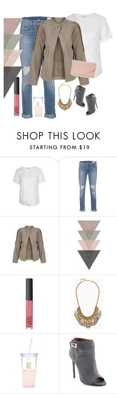 """Kristen girl"" by vickyitalia ❤ liked on Polyvore featuring Equipment, rag & bone, NARS Cosmetics, Stella & Dot, Kate Spade, Givenchy and Sasha"