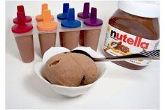 Aprenda a fazer sorvete de Nutella