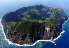 The 16 Most Beautiful Places In Japan You Didn't Know Existed Aogashima Volcano