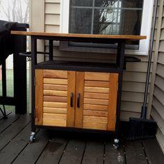 Outdoor Serving Cart