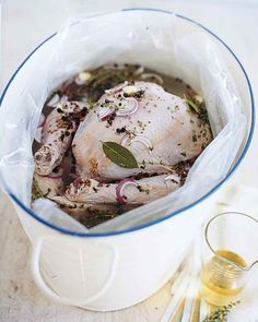 Turkey Brine by Martha Stewart. This is absolutely the best flavored turkey and most moist turkey I have ever had. This recipe is definitely a keeper. It was easy to make, just need to plan ahead.