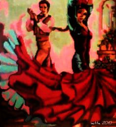 Spanish dance by Sette