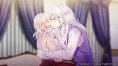 My World 💕 Anime Boys, C Anime, Chica Anime Manga, Mystic Messenger, Anime Couples, Cute Couples, Carla Tsukinami, Vampires, Diabolik Lovers Laito