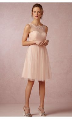 Zipper A-line Knee-length Bridesmaid Dresses