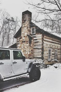 If you have a place like, get there year-round in your Jeep - cute image