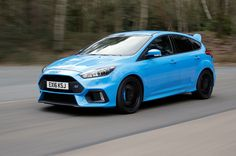 2016 Ford Focus RS (in Nitrous Blue)