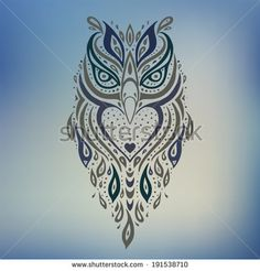 tribal owl tattoo - Google Search