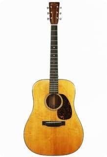 1941 Martin D-18 pre-war flat top acoustic guitar